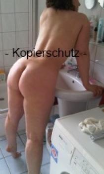 Reife Frau in Höschen